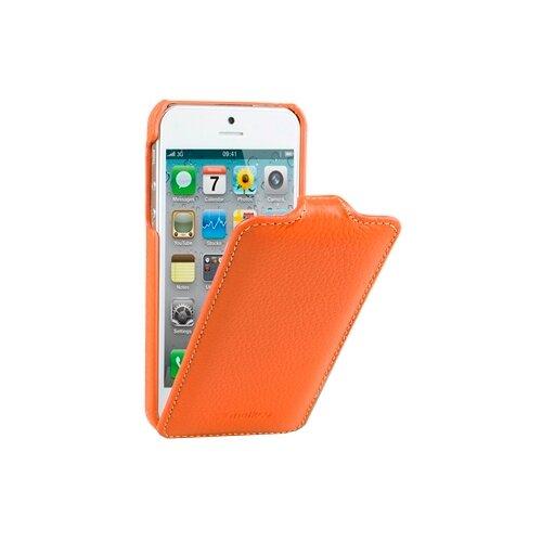 Чехол Melkco Jacka Type для Apple iPhone 5/iPhone 5S/iPhone SE оранжевый чехол impress protective case orange для iphone 5 5s оранжевый