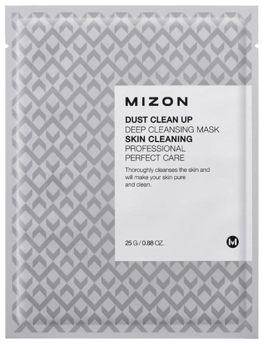 Mizon Dust Clean Up Deep Cleansing Mask очищающая тканевая маска