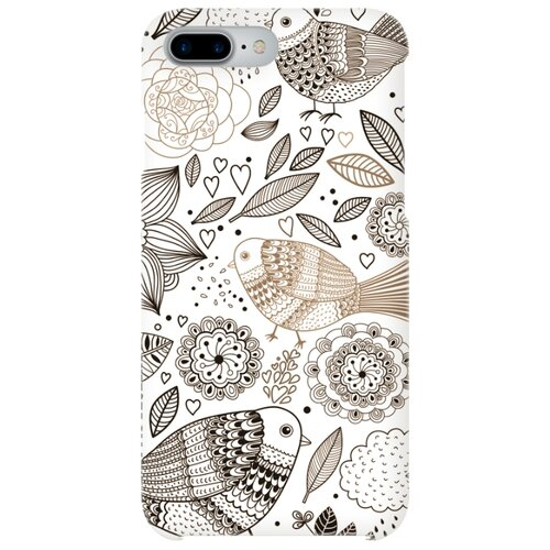 Чехол Mitya Veselkov IP7PLUS.MITYA-019 для Apple iPhone 7 Plus/iPhone 8 Plus цветы и птичкиЧехлы<br>