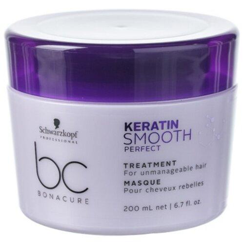 BC Bonacure Keratin Smooth Perfect Маска для гладкости волос, 200 мл keratin маска для волос