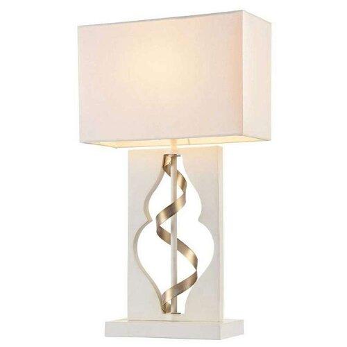 Настольная лампа MAYTONI Intreccio ARM010-11-W, 40 Вт настольная лампа maytoni intreccio arm010 11 r 40 вт