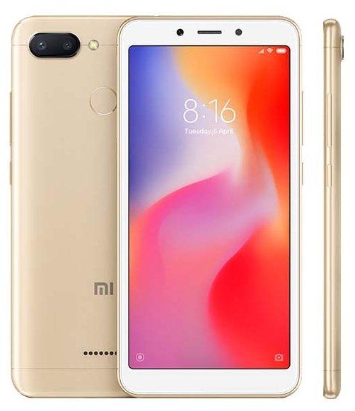 Смартфон Xiaomi Redmi 6 3/64GB (Золотой)