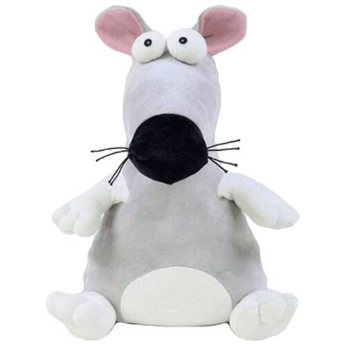 Купить Игрушка-антистресс Штучки, к которым тянутся ручки Пучеглаз Крыса 37 см, Мягкие игрушки