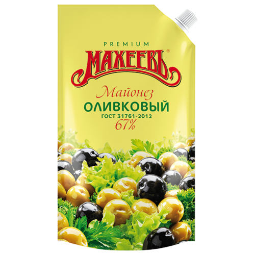 Майонез Махеевъ Оливковый 67% 380 г