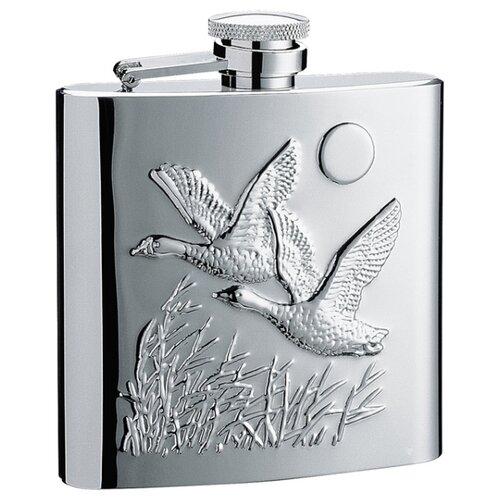 "Фляга S.Quire ""Птицы"" (1509YB-E39R) 0.27 л серебристый"