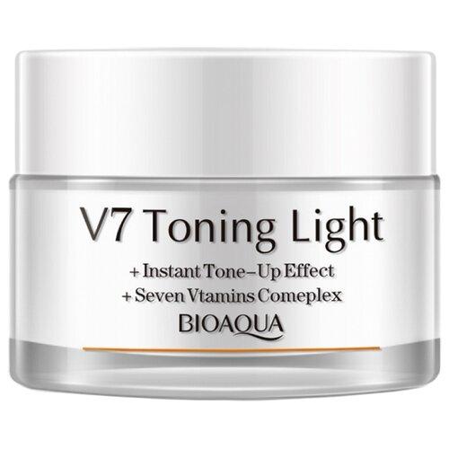 BioAqua V7 Toning Light Мультифункциональный дневной крем для лица, 50 г dr jart v7 toning light