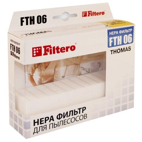 Filtero HEPA-фильтр FTH 06 1 шт. filtero hepa фильтр fth 32 1 шт