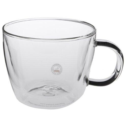 Bodum Набор кружек для латте Bistro 0,45 л 2 шт прозрачный набор стаканов bistro 0 3 л 2 шт син арт a11582 528 y15
