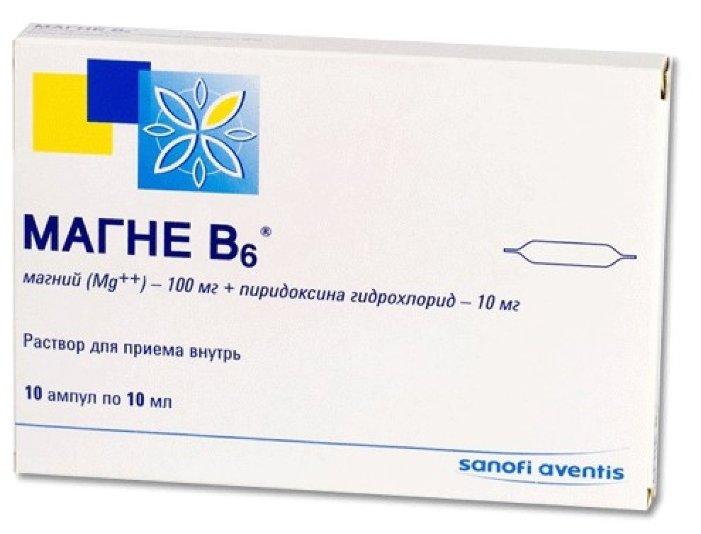 Магне В6 10 шт. раствор для приема внутрь