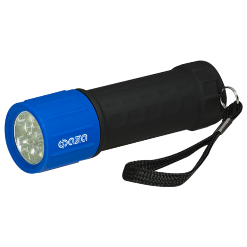 Ручной фонарь ФАZA P1-L09 синий/черныйФонари<br>