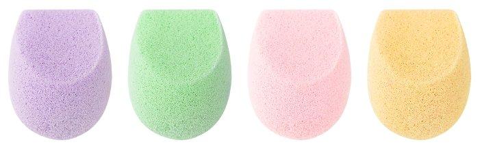 Набор спонжей Ecotools Color perfecting minis, 4 шт.