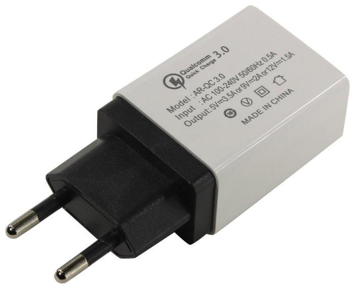 Сетевое зарядное устройство универсальное Greenconnect GCR-1P35AUSB-Biue 3.5A