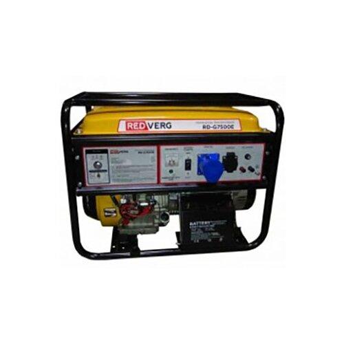 Бензиновый генератор RedVerg RD-G7500E (7000 Вт)