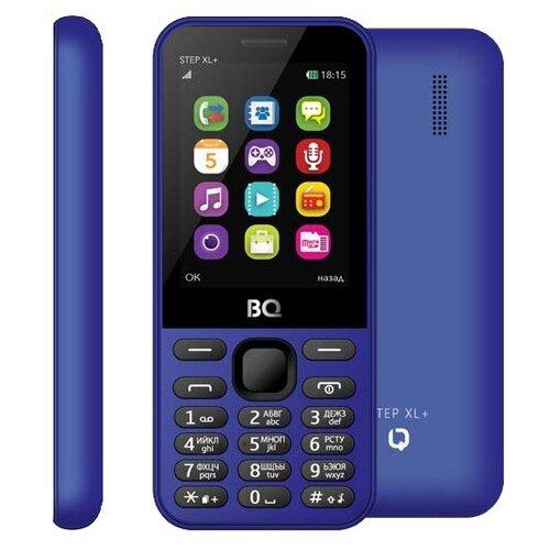Телефон BQ 2831 Step XL+ темно-синий рубашка женская bello belicci цвет темно синий sa1 9 размер xl 48