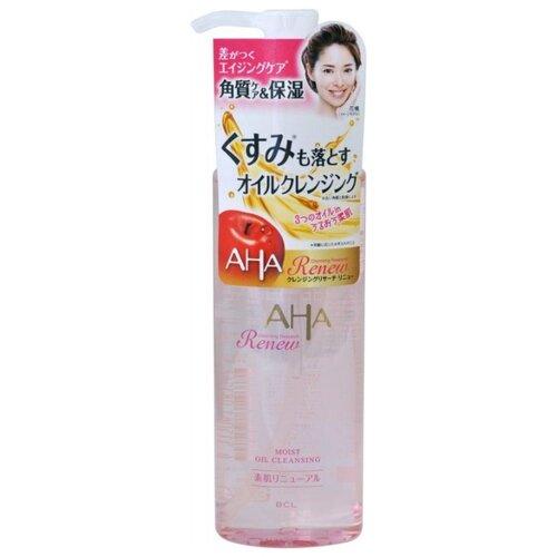 AHA Очищающее и увлажняющее масло для снятия макияжа с фруктовыми кислотами, 145 мл skincode exclusive масло клеточное идеально увлажняющее и очищающее 200 мл