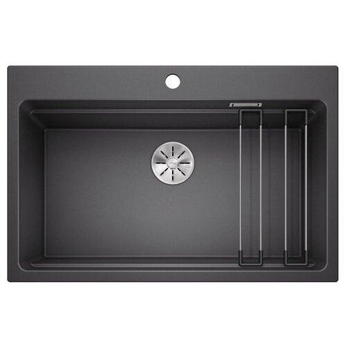 Врезная кухонная мойка 78 см Blanco Etagon 8 антрацит фото