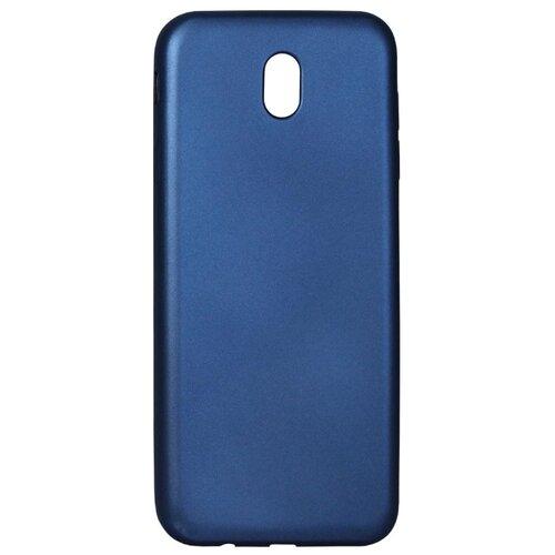 Купить Чехол Volare Rosso Soft-touch для Samsung Galaxy J7 2017 (силикон) темно-синий