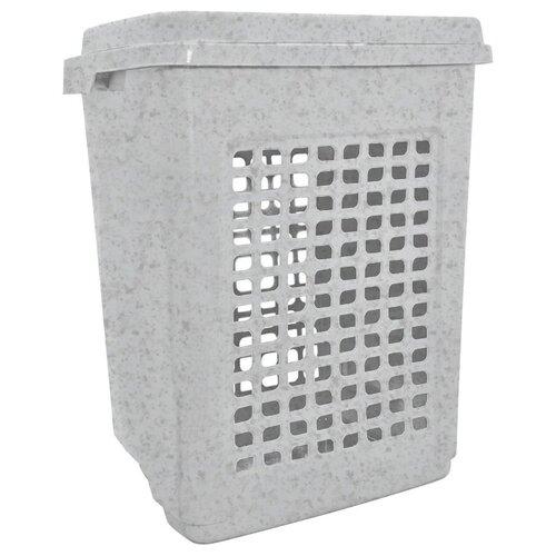 BranQ Корзина для белья 65 л мраморный
