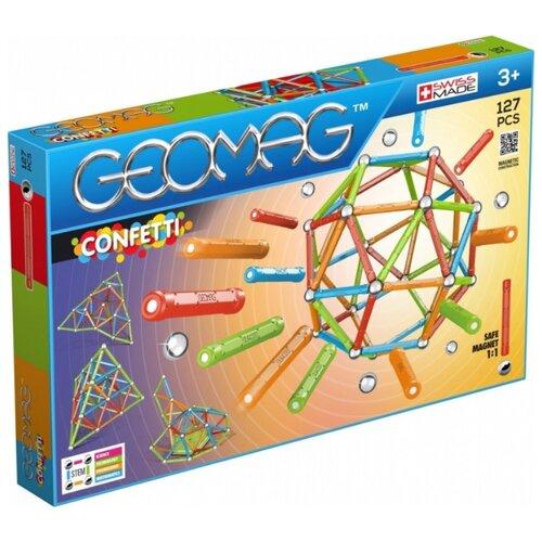Купить Магнитный конструктор GEOMAG Confetti 354-127, Конструкторы