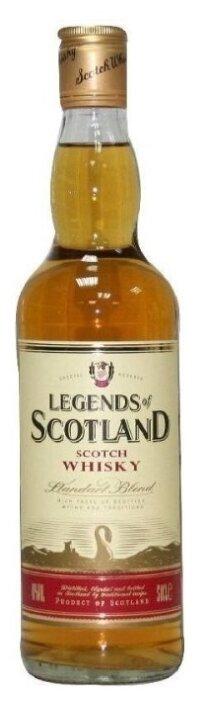 Виски Legends of Scotland, 0.5 л