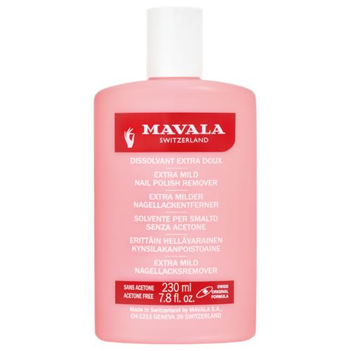 Mavala Жидкость для снятия лака профессиональная Розовая Nail Polish Remover Pink 230 мл