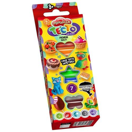 Купить Пластилин Danko Toys 7 цветов (TMD-02-05), Пластилин и масса для лепки