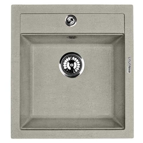 Врезная кухонная мойка 46.5 см LAVA Q1 Q1.SCA scandic врезная кухонная мойка 42 5 см lava q3 q3 sca scandic