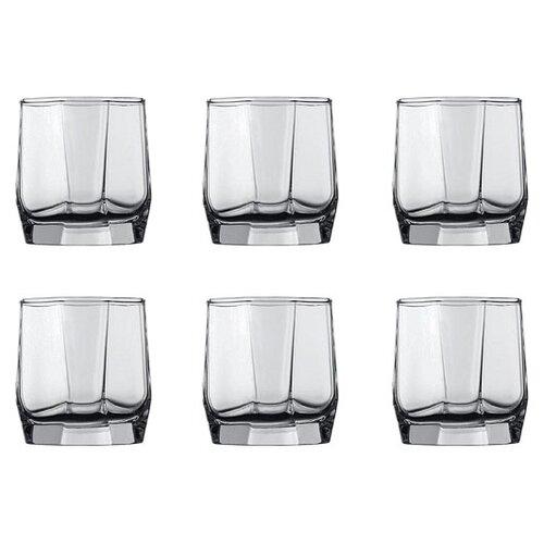 Pasabahce Набор стаканов Hisar 210 мл 6 шт прозрачный цена 2017