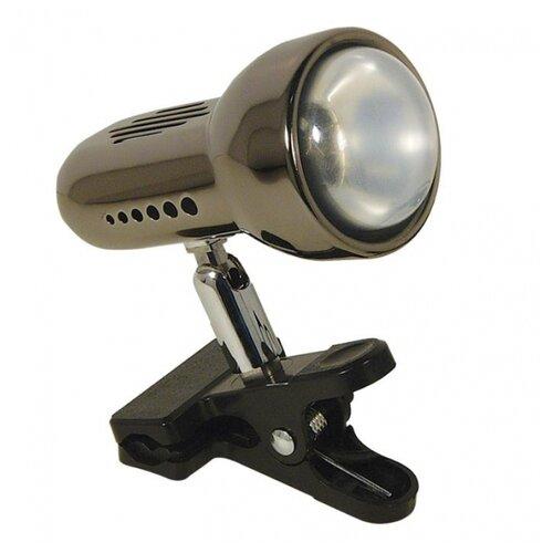 Настольная лампа Акцент 0014-C черный никель, 60 Вт
