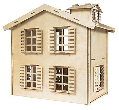 Сборная модель IQ Format Кукольный домик,,