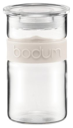Bodum Банка для хранения Presso 250 мл белый