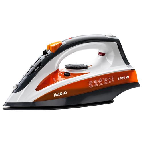 Утюг Magio MG-543 оранжевый/серый/белый