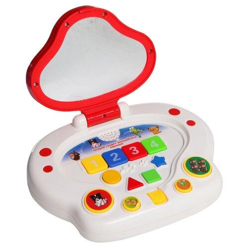 Купить Интерактивная развивающая игрушка Joy Toy Волшебное зеркало (7133В) белый/красный, Развивающие игрушки