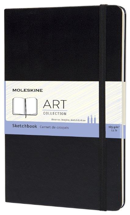 Скетчбук Moleskine Large 21 х 13 см, 165 г/м², 50 л.