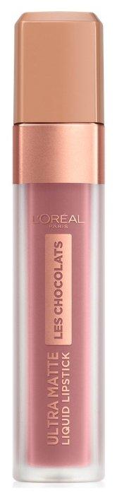 L'Oreal Paris жидкая помада для губ Les Chocolats стойкая матовая