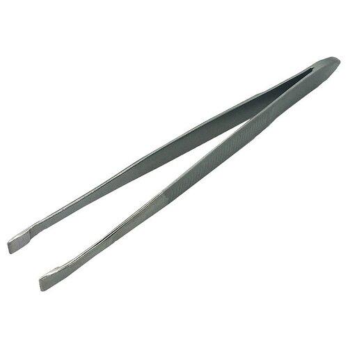 Пинцет Germanicur GM-122-03 MATT для бровей серебристый