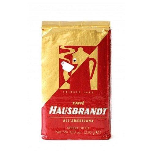 Кофе молотый Hausbrandt Americano, 250 г hausbrandt кофе в зернах академия 0 5 кг вакуумная упаковка 537 hausbrandt