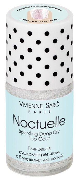 Верхнее покрытие Vivienne Sabo Sparkling Deep Dry Top Coat Noctuelle 15 мл