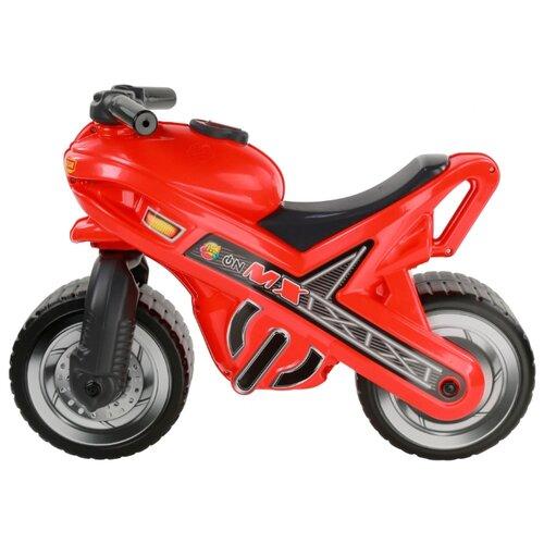 Фото - Каталка-толокар Полесье Мотоцикл МХ красный полесье каталка мотоцикл полесье мини мото