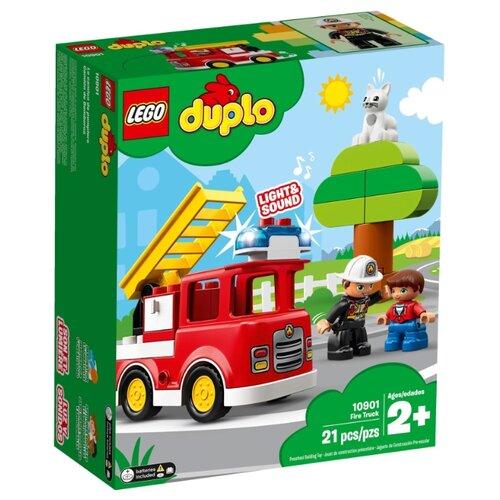 цена на Конструктор LEGO DUPLO 10901 Пожарная машина
