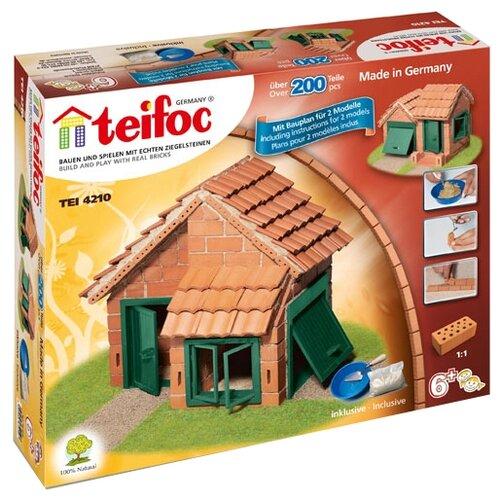Фото - Конструктор TEIFOC Classics TEI4210 Дом с черепичной крышей конструктор teifoc classics tei9010 цветник
