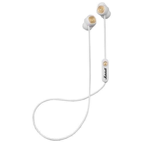 Беспроводные наушники Marshall Minor II Bluetooth white гарнитура marshall major ii white