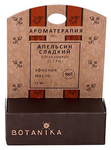 Botanika эфирное масло Апельсин сладкий — купить по выгодной цене на Яндекс.Маркете