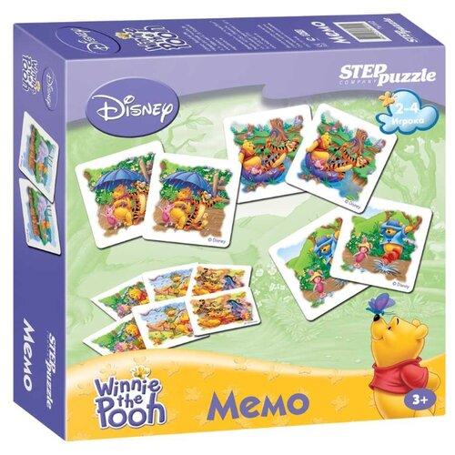 Фото - Настольная игра Step puzzle Медвежонок Винни Мемо (Disney) комп белья disney медвежонок винни 3 пред желтый polini