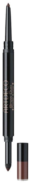 ARTDECO Тени-карандаш для бровей Duo Powder & Liner