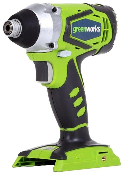 Гайковерт greenworks G24IW 0