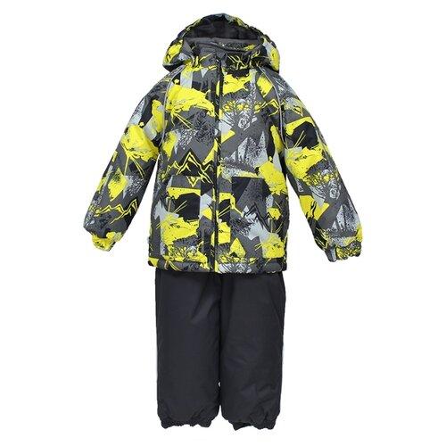 Комплект с брюками Huppa размер 80, 72548 gray pattern/gray куртка huppa isla 17820020 размер 116 73320 white pattern gray