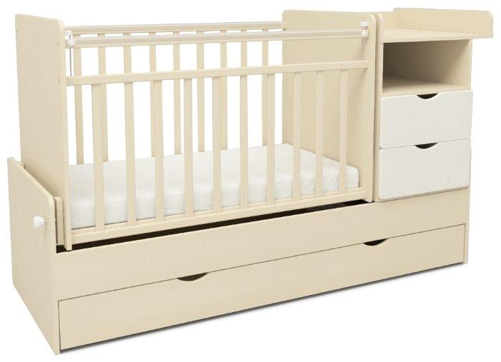 Кроватка SWEET BABY Valentino (трансформер)