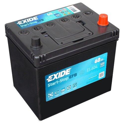 цена на Автомобильный аккумулятор Exide Start-Stop EFB EL604