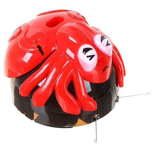 Купить Интерактивная игрушка робот BRADEX Веселый бегун Паук красный/черный, Роботы и трансформеры